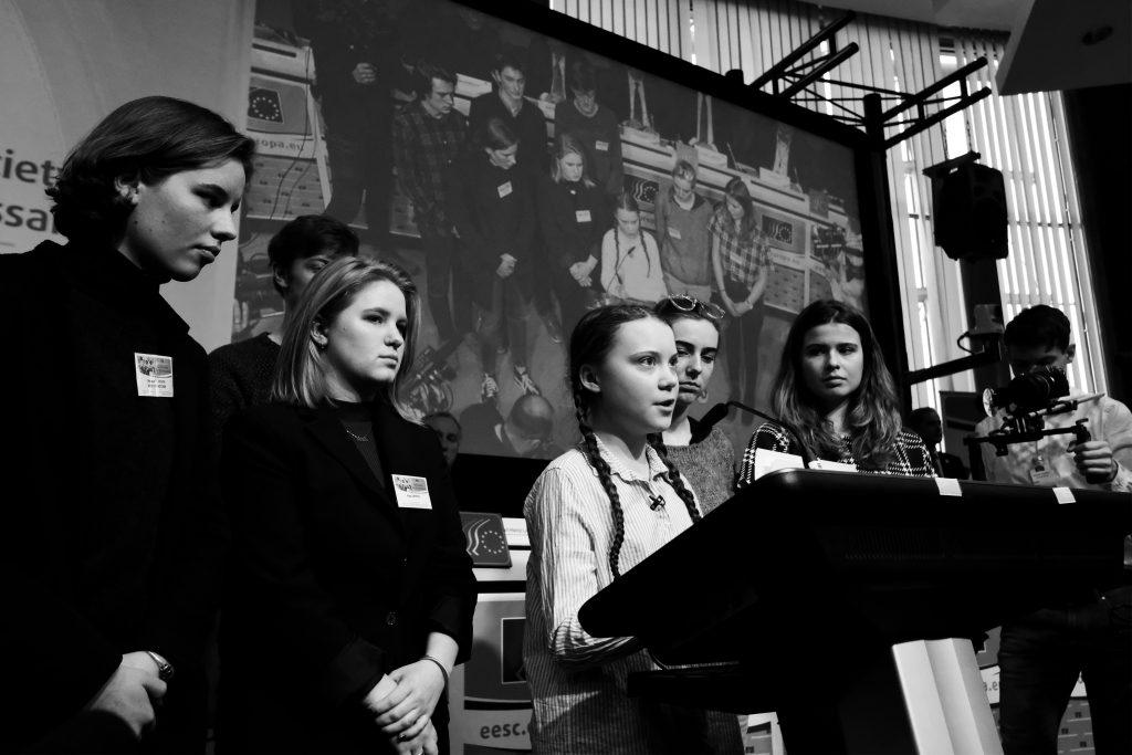 Aktivistka Greta Thunbergová