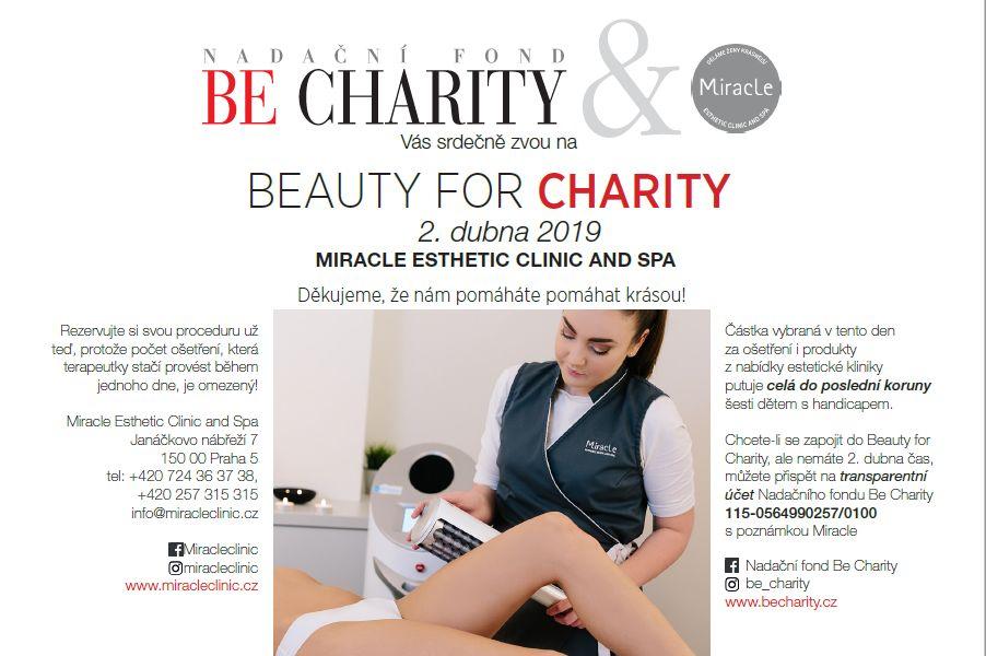 Zkrášlete se na Beauty for Charity a pomozte handicapovaným dětem