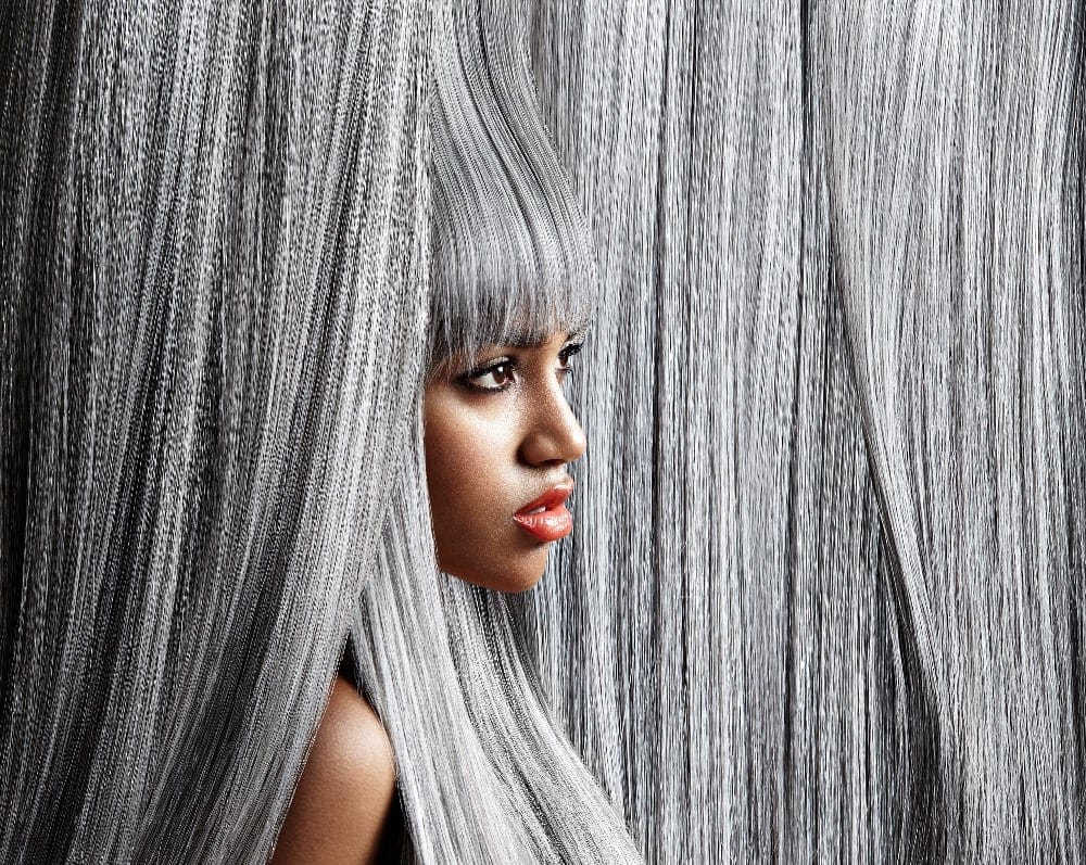 Šedivé vlasy