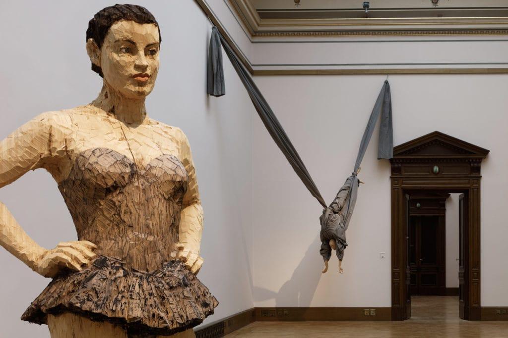 Pohled do výstavy A COOL BREEZE (c) Galerie Rudolfinum